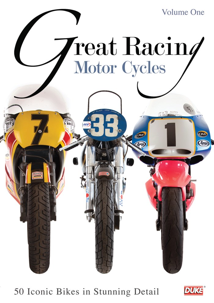 Great Racing Motorcycles Vol 1  DVD