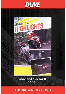 TT 1988 - Junior & Sidecar B Races Duke Archive DVD