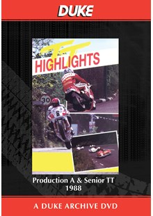 TT 1988 Senior & Production A Race Highlights Duke Archive DVD