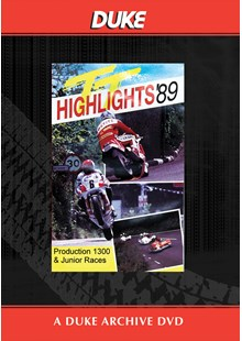 TT 1989 Production 1300 & Junior Races Duke Archive DVD