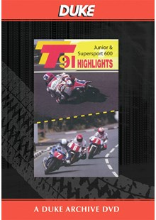 TT 1991 Junior & Supersport 600 Highlights Duke Archive DVD