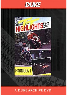 TT 1992 F1 Race Duke Archive DVD