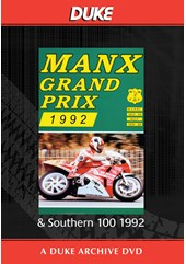 Manx Grand Prix & Southern 100 1992 Duke Archive DVD