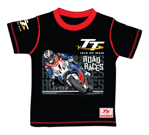 Tt custom t shirt child black isle of man tt official shop for Vistaprint custom t shirts