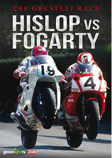 The Greatest Race - Hislop vs Fogarty DVD