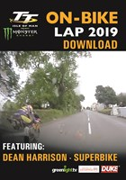 TT 2019 On Bike  - Dean Harrison - Superbike Race - Download