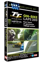 TT 2010 On Bike Laps (3 Disc) DVD