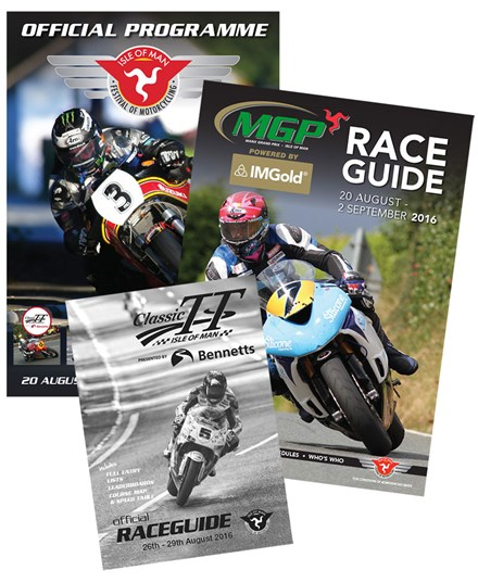 2016 IOM Festival of Motorcycling Programme, Race Card & Race Guide