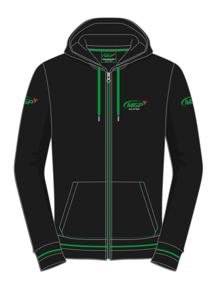 Manx Grand Prix Hoodie - click to enlarge