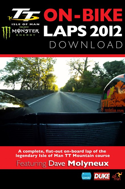 TT 2012 On Bike Lap Dave Molyneux Sidecar Tuesday Practice HD Download