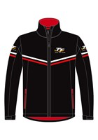 TT Softshell Jacket with Red & White Piping