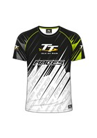 TT All over Print T-Shirt White and  Green