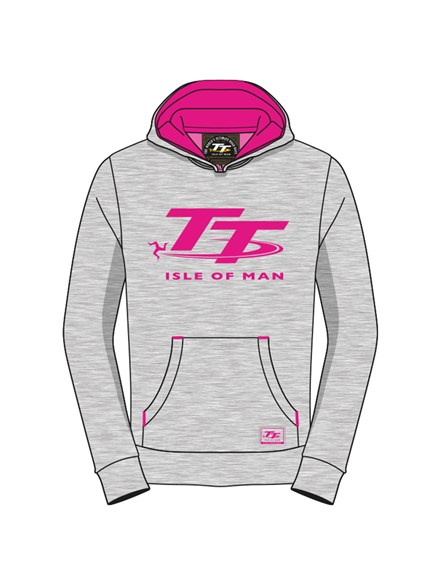 TT Childs Hoodie Grey - click to enlarge