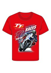 TT 2018 Bike 10 Childs T-Shirt Red