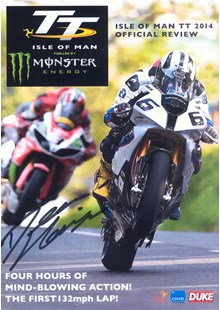 TT 2014 Review Signed by Dean Harrison DVD