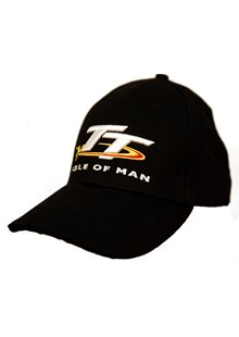 TT Cap Black with Logo