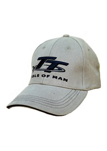 TT Cap Grey, Navy Logo