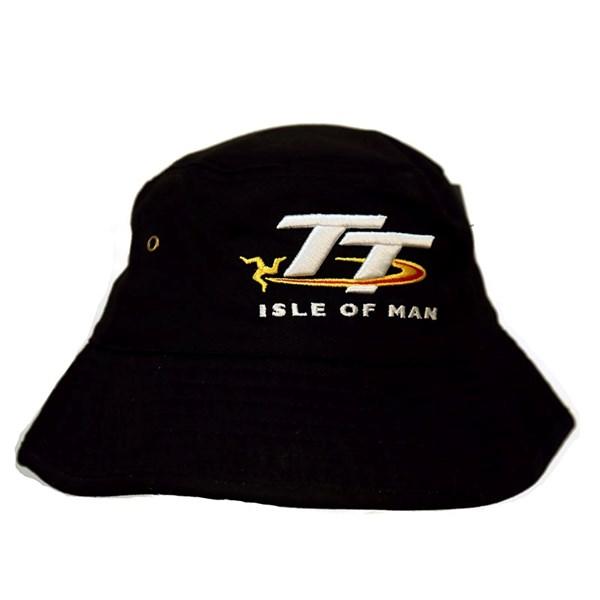 7b9f6e4721260 TT Bucket Hat Black   Isle of Man TT Shop