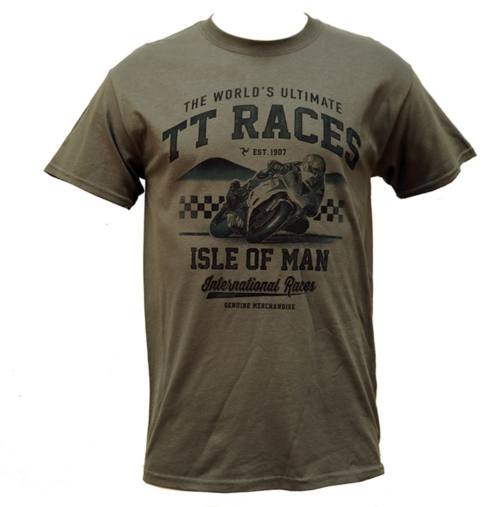 TT The World's Ultimate T-Shirt Charcoal - click to enlarge