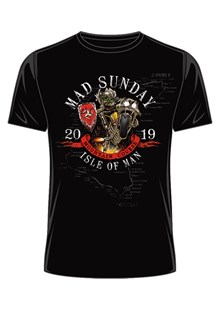 TT 2019 Mad Sunday T-Shirt Black