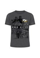 TT Start Line Ultimate Road Races T-Shirt Dark Heather