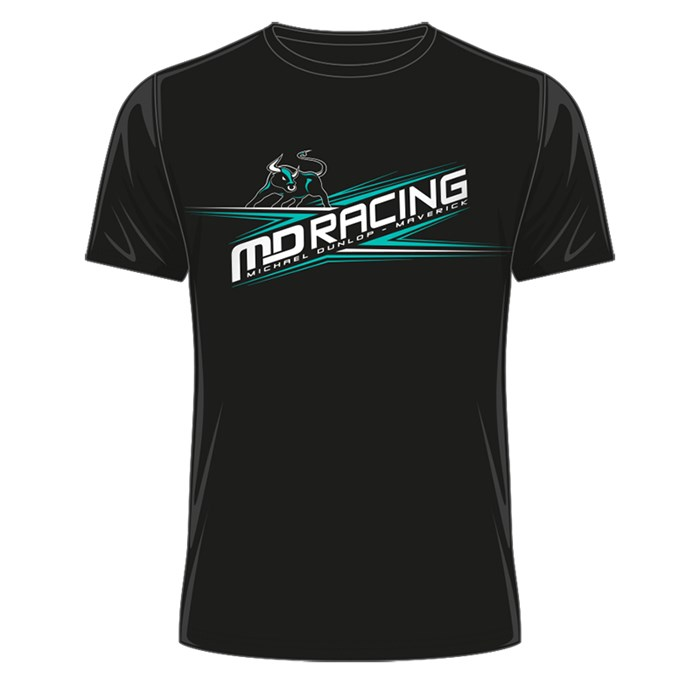 Michael Dunlop - MD Racing T-Shirt Black - click to enlarge