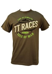 TT Ultimate Races Mountain Course T-Shirt Charcoal