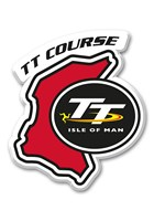 TT Fridge Magnet,Red with TT Logo