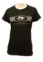 TT Ladies T-Shirt Check Design
