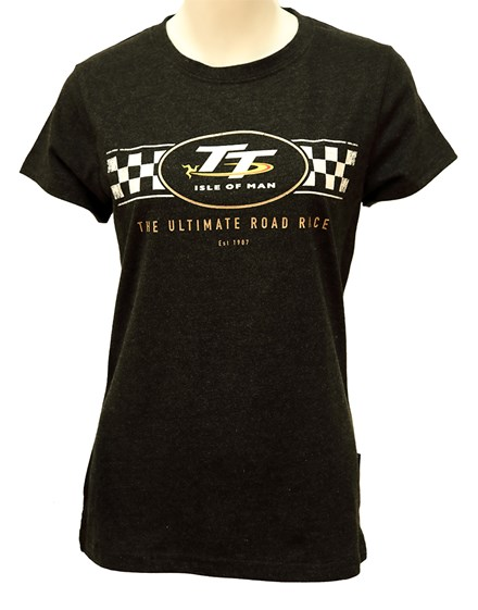 TT Ladies T-Shirt Check Design - click to enlarge
