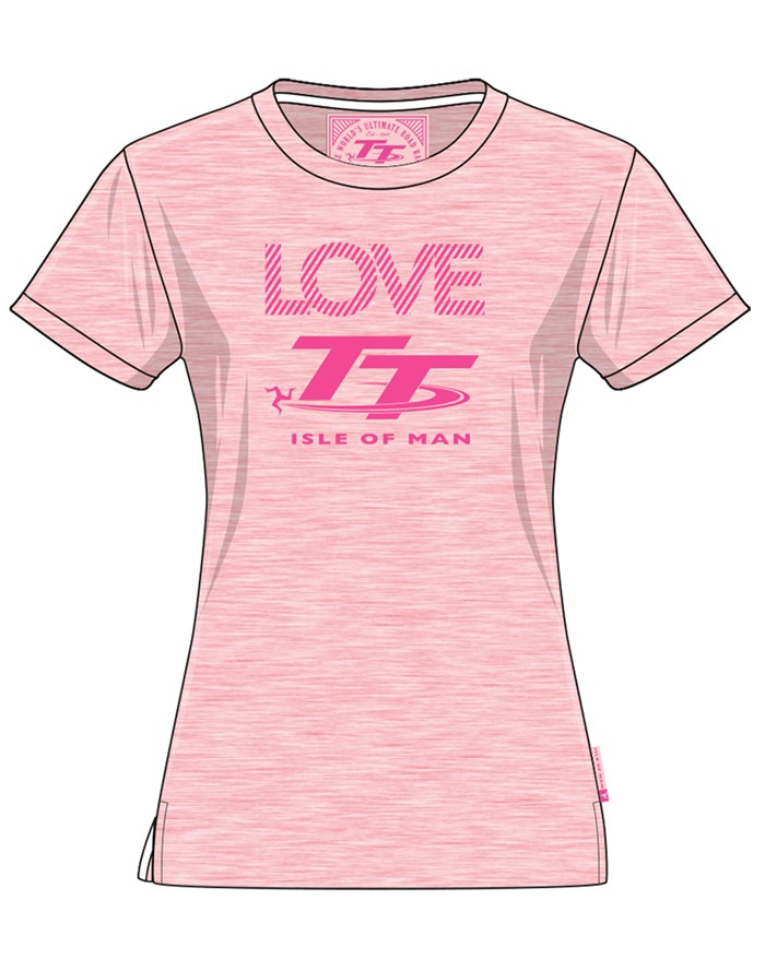 TT Ladies T-shirt Pink - click to enlarge