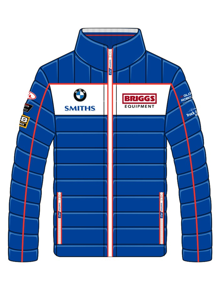 Peter Hickman Smiths Racing Jacket - click to enlarge