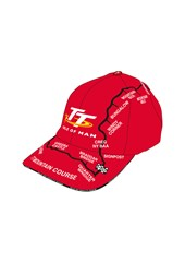 TT Childs Map Cap Red