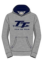 TT Childs Hoodie Grey and Blue
