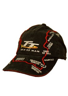 Black Stone Wash TT Course Cap