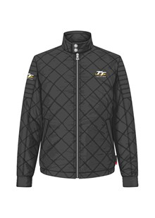 TT Diamond Quilted Jacket Black