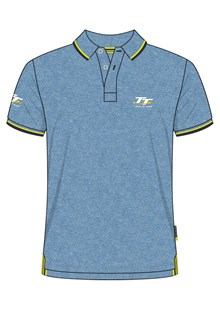 TT Polo Sky Blue Marl