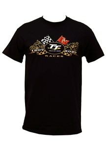 TT 2020 Gold Bikes T-Shirt Black
