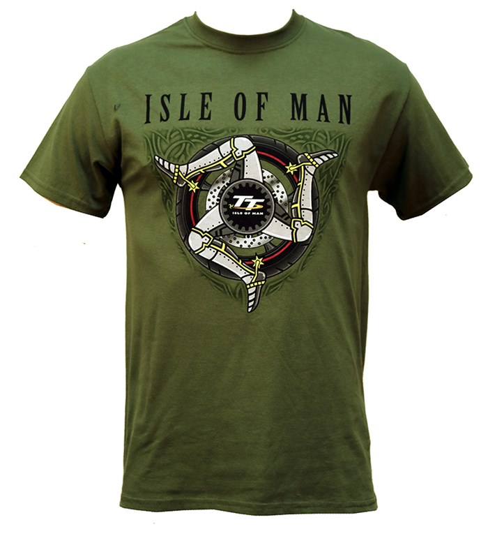 TT 3 Legs T- Shirt Military Green - click to enlarge