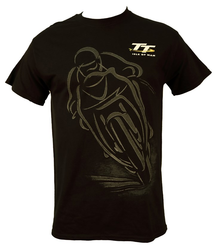 TT 2020  Shadow Bike T-Shirt Black - click to enlarge