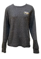 TT Ladies Lightweight Sweatshirt Blue Speckled