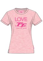 TT Ladies Love T-Shirt Pink/Red
