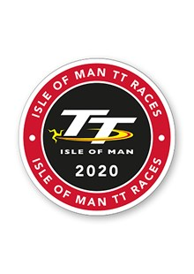 TT 2020 Logo Small Sticker