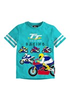 TT Coloured Baby T-Shirt Turquoise