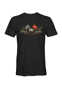 TT 2021 Gold Bikes T-Shirt Black
