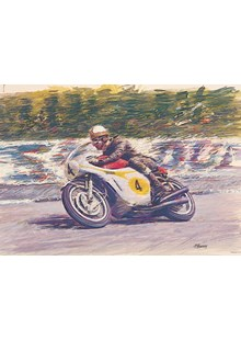Mike Hailwood TT Legend Print