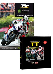 TT 2018 Review DVD with Little Book of the TT