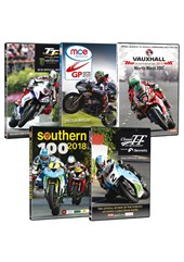 Road Racing Collection 2018 5 DVD Bundle