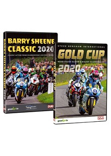 Barry Sheene Classic & Scarborough Gold Cup 2020 DVDs
