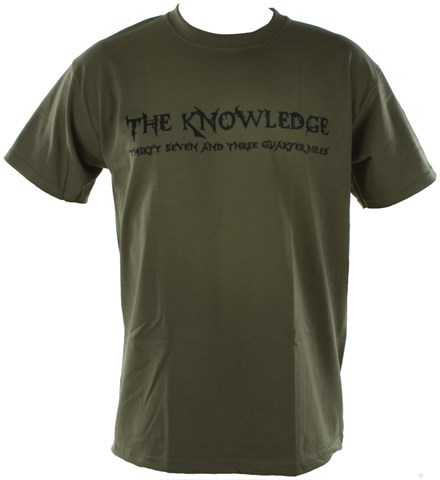 The Knowledge Duke T-Shirt Olive - click to enlarge